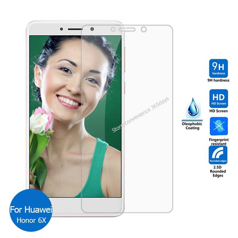 Avant En Verre Trempé Protecteur D'écran Pour Huawei Honor 6x2.5 9 h sécurité De Protection En Verre sur Honor6X 6 X MILLIARDS TL10 AL10 TL00