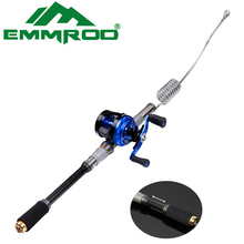 2016 New Emmrod Stainless Packer Bait casting Fishing Rod Combo Casting Pole Ocean Boat Fishing Rod Ocean Rock  Fishing
