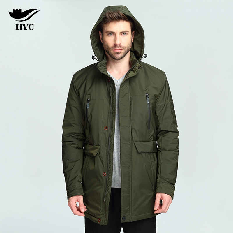 HAI YU CHENG Army Overcoat Thin Parka Pilot Jacket Russia Hot Sale ...
