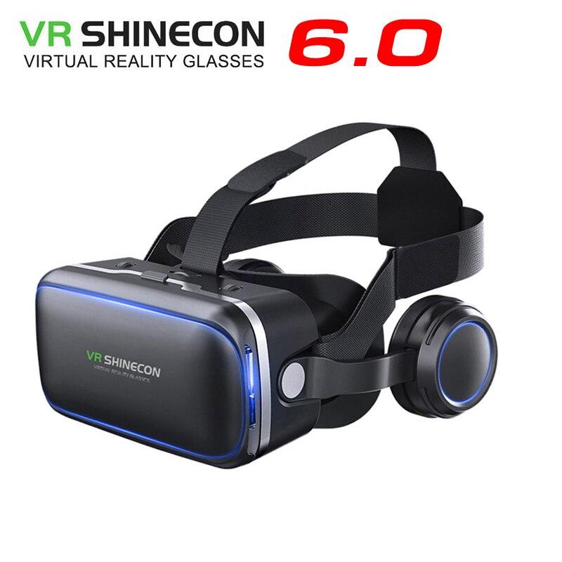 Оригинальный <font><b>VR</b></font> shinecon 6.0 Стандартный Edition и гарнитура Версия Очки виртуальной реальности 3D очки гарнитура шлемы смартфон