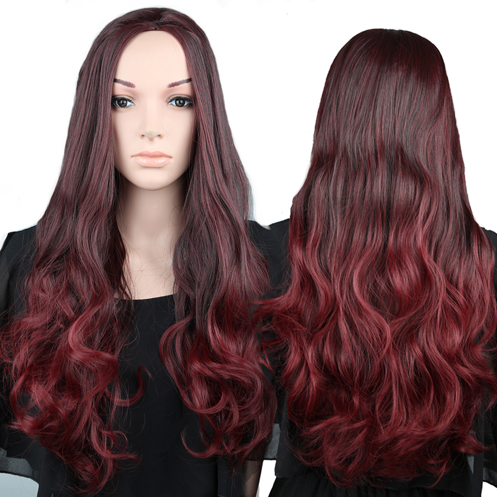 Peachy Compare Prices On Half Black Half Red Wig Online Shopping Buy Low Short Hairstyles For Black Women Fulllsitofus