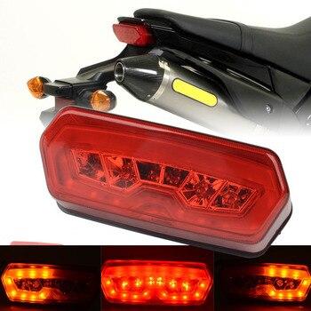 Mayitr DC 12V Motorcycle LED Tail Turn Signal Light Brake Lamp Clear for Honda Grom MSX 125 14-16 Motorbike Red Amber Lamp Honda Grom