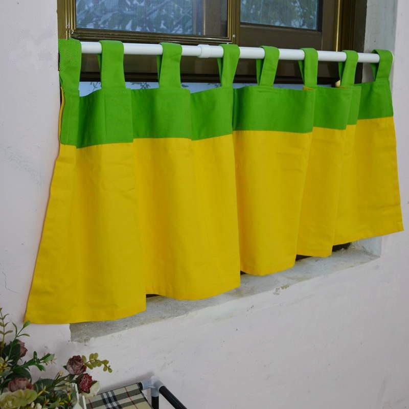 Keuken gordijnen groen koop goedkope keuken gordijnen groen loten ...