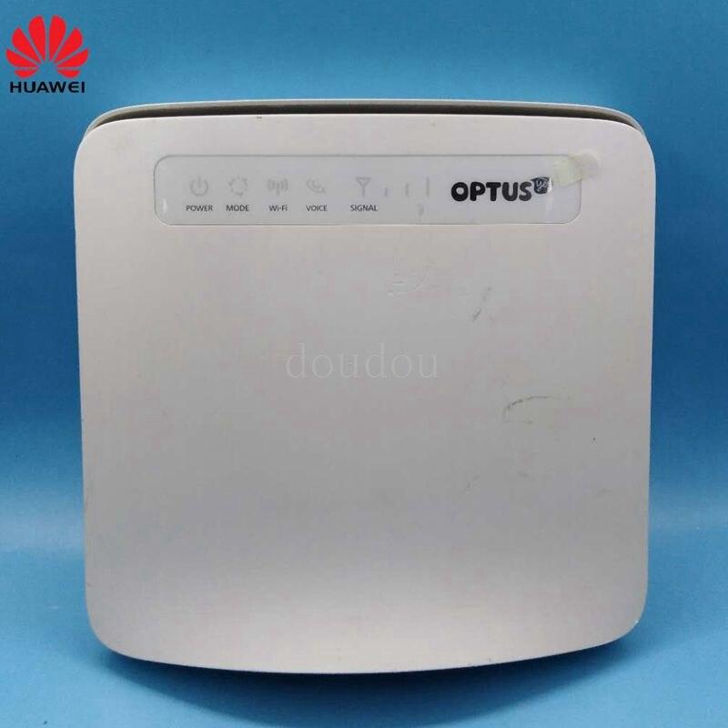 Usado desbloqueado Huawei E5186 E5186s-61a com Antena 4G CAT6 300 Mbps LTE CPE Router Wireless Hotspot Gateway PK B593, b310, E5172