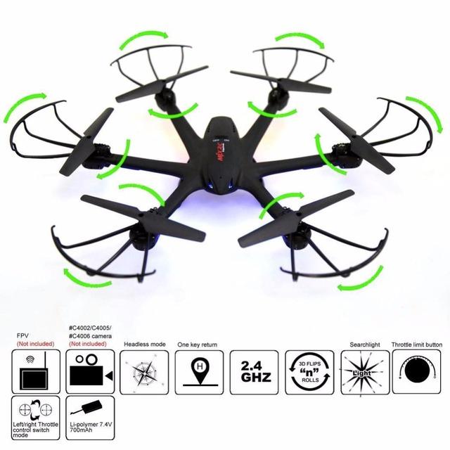 MJX x600 drones quadcopter con cámara hd brinquedos quadcopte rc helicóptero drones rc helicóptero drone fpv profesional Luz