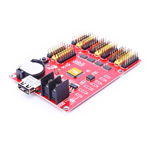 Image 2 - Металлический светодиодный дисплей, цифровые часы, светодиодная световая панель, светодиодная вывеска, приборная панель для вывески, светодиодный дисплей, карта управления u63