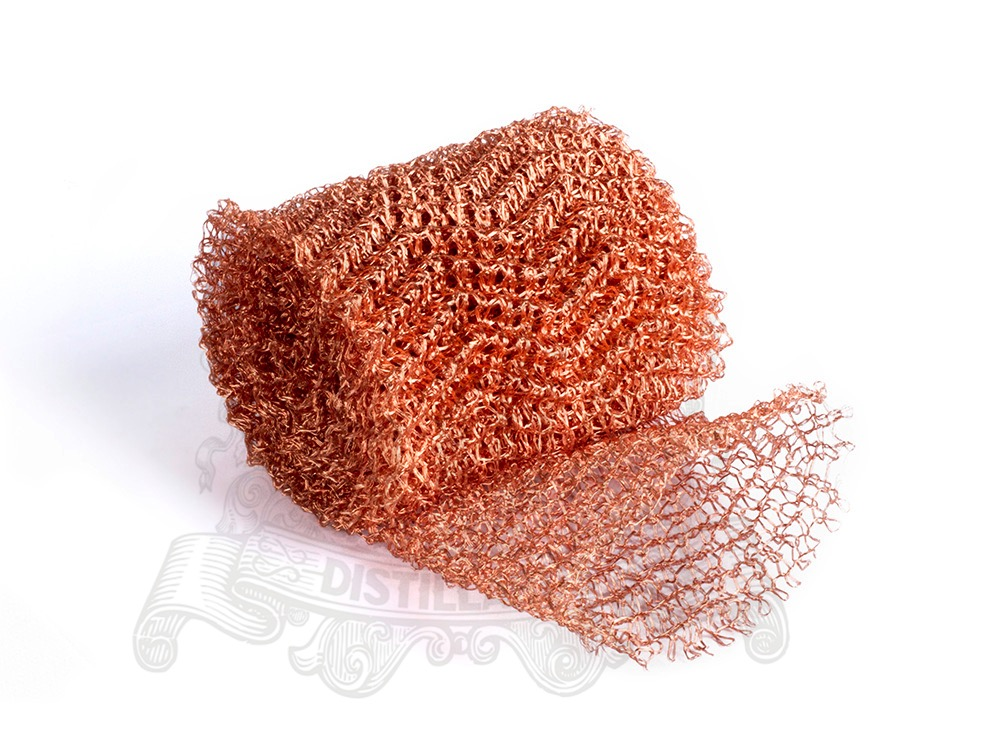 6 Wire Copper Mesh for distillation, Copper packing, Still column packing T2(M0) length 1m, width 10cm ,6 wire diameter 0.156 Wire Copper Mesh for distillation, Copper packing, Still column packing T2(M0) length 1m, width 10cm ,6 wire diameter 0.15