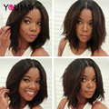 Short Bob Wave Brazilian Natural Body Wave Lace Front Human Hair Wigs With Baby Hair Glueless Full Lace Bob Wigs For Black Women