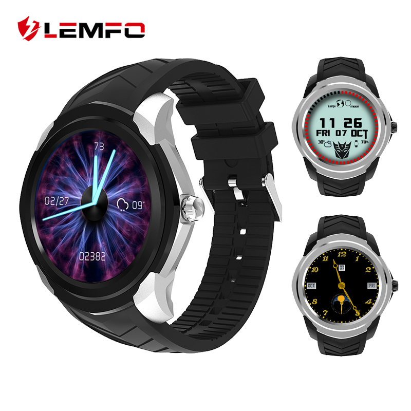LEMFO LF17 Android 5.1 Smart Watch Phone 512MB+4GB Heart Rate Monitor Fitness Tracker Support SIM 32GB TF Card Slot new lf17 smart watch
