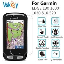 VSKEY 50 יחידות מזג זכוכית עבור Garmin עבור Garmin קצה 130 1000 1030 510 520 מסך מגן שעון מגן סרט