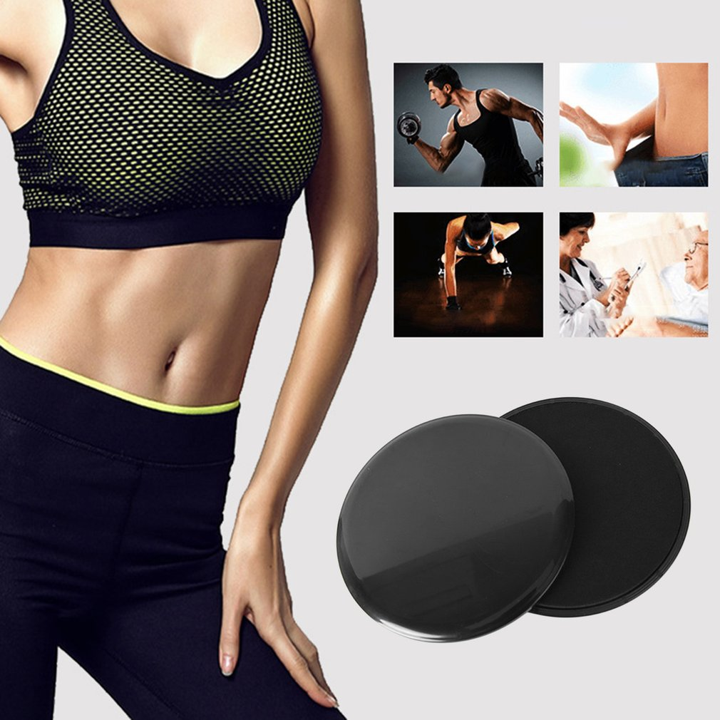 Gym Fitness Equipment Gliding Disc Abdominal Workout Exercise Crossfit Rapid Training Slider Plate For Yoga Gym Fitness & Body Building Fitness Equipments