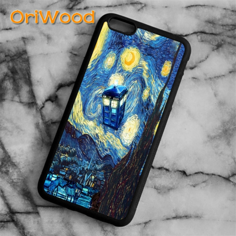 Initiative Oriwood Doctore Who Tardis Rubber Case Cover For Iphone 6 6s 7 8 Plus X 5 5s Se Samsung Galaxy S5 S6 S7 Edge S8 Plus Note 8 Cellphones & Telecommunications Phone Bags & Cases
