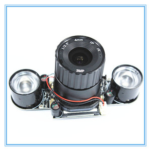 Image 1 - ラズベリーパイ 3 B + 5MP カメラ IR CUT 5MP 72 度焦点調節可能な長さのナイトビジョンノワールカメララズベリーパイ 3 モデル B +