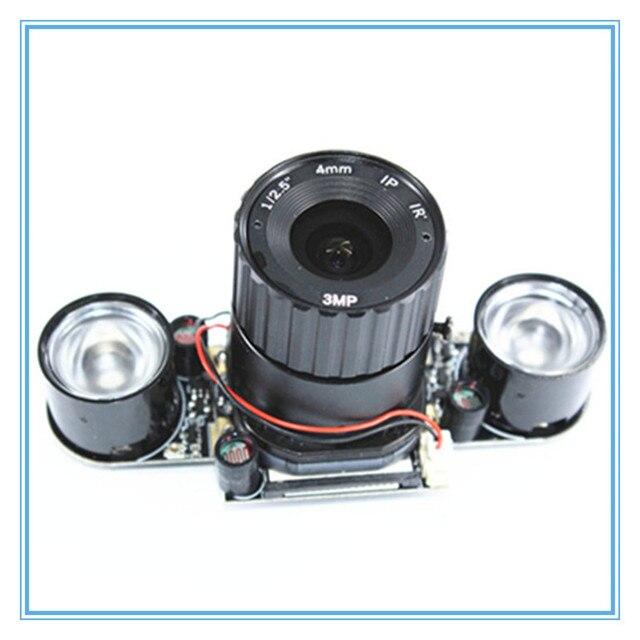 ラズベリーパイ 3 B + 5MP カメラ IR CUT 5MP 72 度焦点調節可能な長さのナイトビジョンノワールカメララズベリーパイ 3 モデル B +