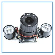 Ahududu Pi 3 B + 5MP Kamera IR CUT 5MP 72 Derece Odak Ayarlanabilir Uzunluk Gece Görüş NoIR Kamera için Ahududu pi 3 Model B +