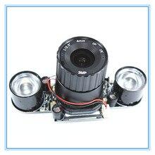 Raspberry Pi 3 B + 5MP กล้อง IR CUT 5MP 72 องศาโฟกัสปรับความยาว Night Vision NoIR กล้องสำหรับ Raspberry pi 3 รุ่น B +