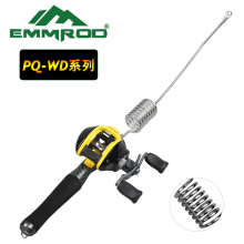 Emmrod Packer Fishing Combo Casting Pole EVA pistol grip Handle Excellent for casting, bait trolling, Supplies