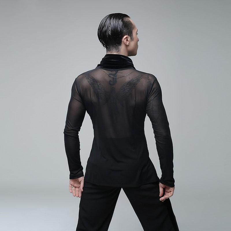 Latin dance kleding strakke sexy turnpakje mannen Panty - 2