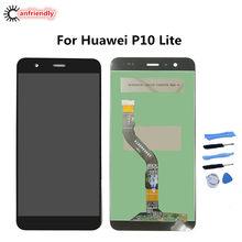 Dla Huawei P10 Lite był L03T LX1 LX1A LX2 LX2J LX3 wyświetlacz LCD + ekran dotykowy wymiana Digitizer montażowe dla huawei P 10 lite