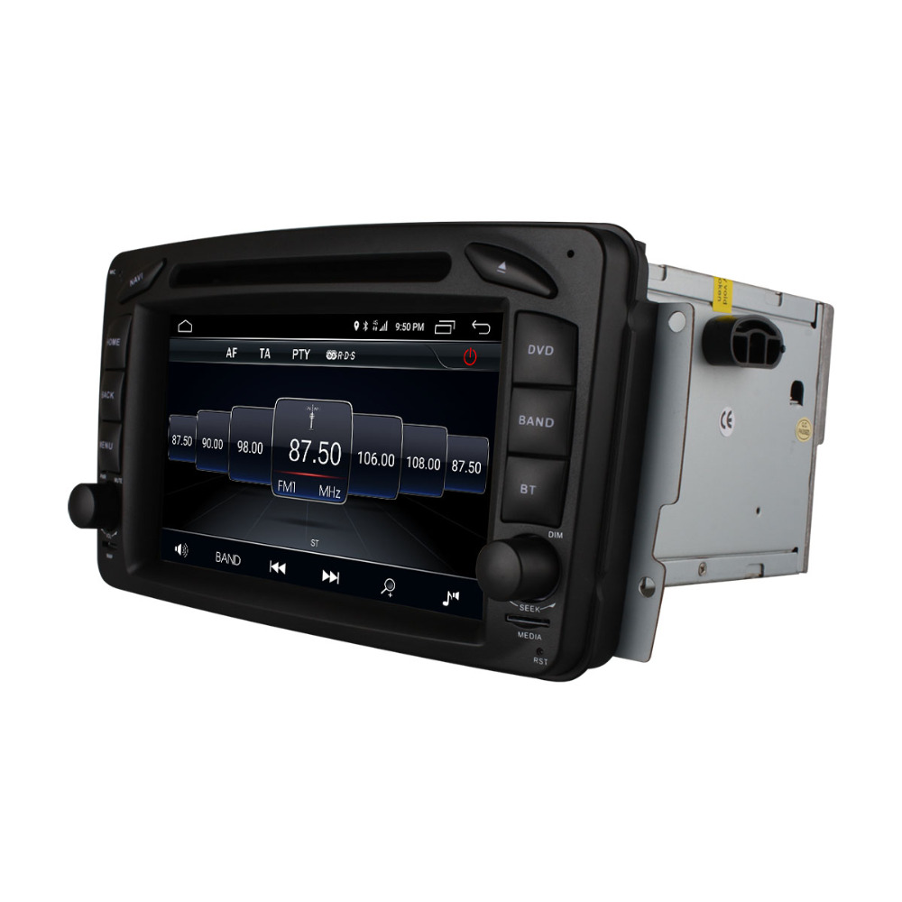 Flash Deal C500 4G SIM Android 6.0 8 Core 2GB RAM Car DVD Player RDS Radio GPS Map WIFI Bluetooth For Benz W163 W168 Viano Vito W463 W210 23