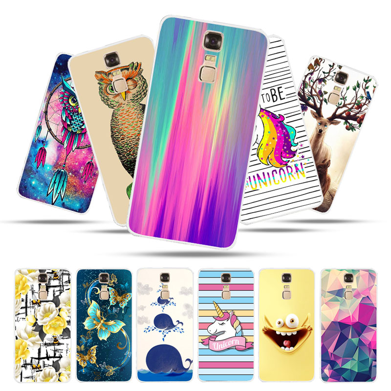 Bolomboy Painted Case For ZTE Blade A610 Plus Case Silicone Soft TPU Cases For ZTE A610 Plus Cover Wildflowers Animal Bags
