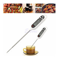 Instant Digital Read Food Probe Cooking Meat Kitchen BBQ Selectable Thermometer