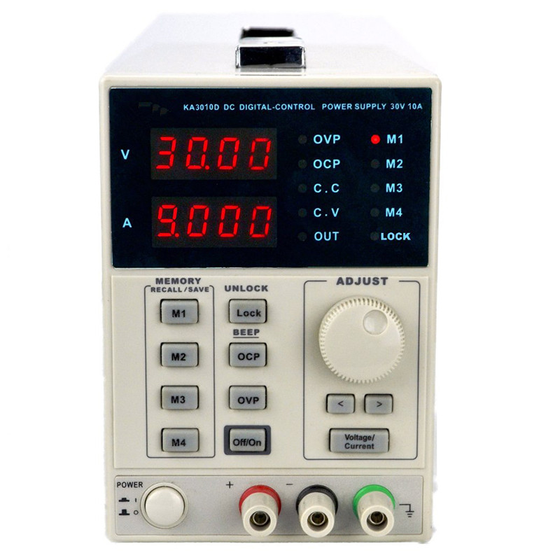 KORAD KA3010D-précision Variable réglable 30 V, 10A DC alimentation linéaire numérique de qualité de laboratoire régulée