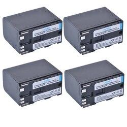 4Pc 8400mAh BP-970G BP 970G BP-975 BP-945 akumulator do aparatów Canon EOS C100 EOS C100 Mark II  EOS C300  EOS C300 PL  GL2  XF100  XF105