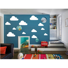 CLOUDS removable wall stickers for kids or nursery room Wall Decals bedroom Decoration