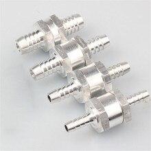 Wupp алюминии Сплав топливным обратным проверочным клапаном в одну сторону бензин дизель 6/8/10/12 мм надежный Новое Ma30 дропшиппинг