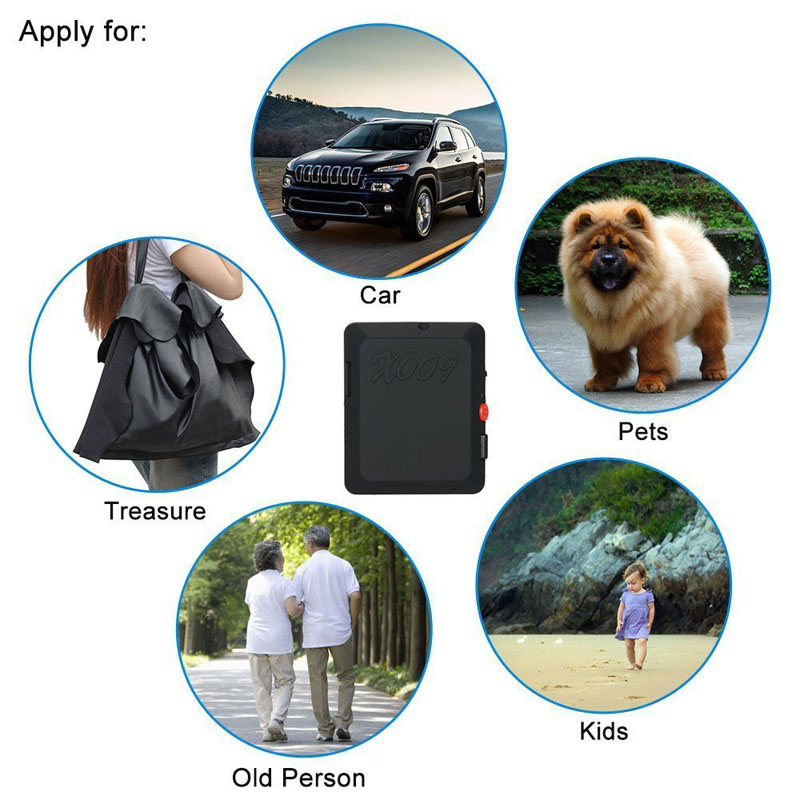 Mini GSM Tracker Locator Camcorders with Camera Monitor Video Recorder & SOS Button DXY88