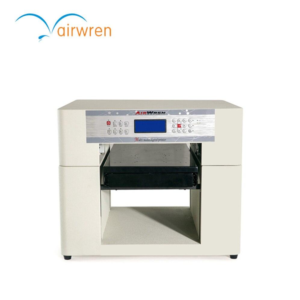 A3 à plat uv imprimante numérique machine d'impression hologramme avec ajouter hauteur