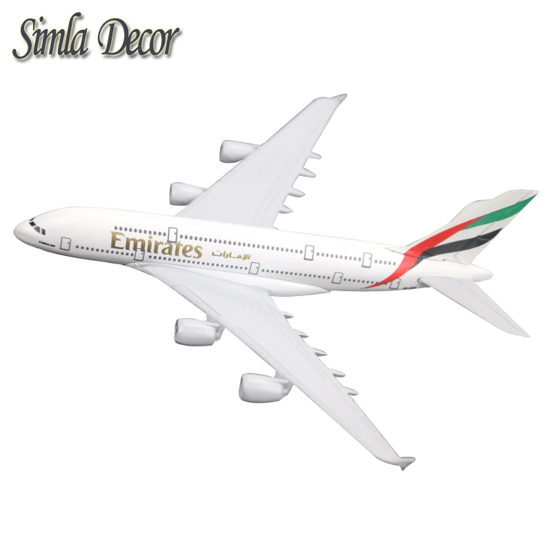 Alloy Metal Air Emirates Airlines Airplane Model Airbus Airways Plane Model Stand Aircraft as Gifts ...