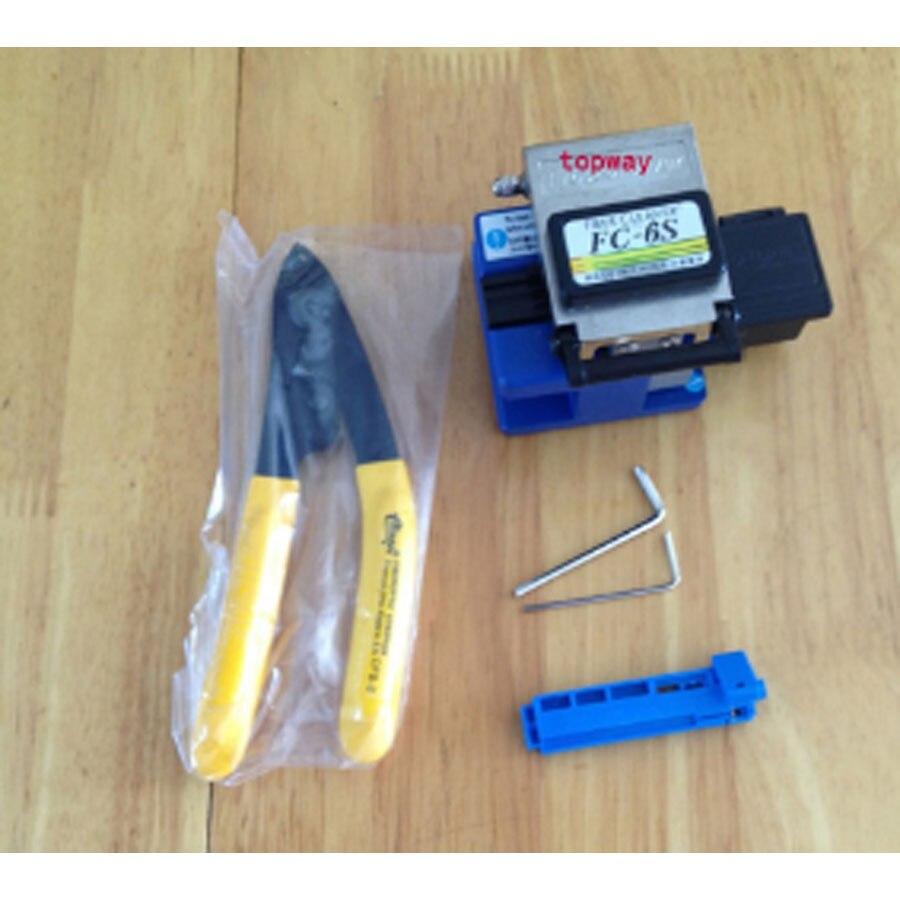 Волокно Кливер оптическое Волокно Кливер Волокно резак зачистки кабеля 6in1ftt Волокно tool kit