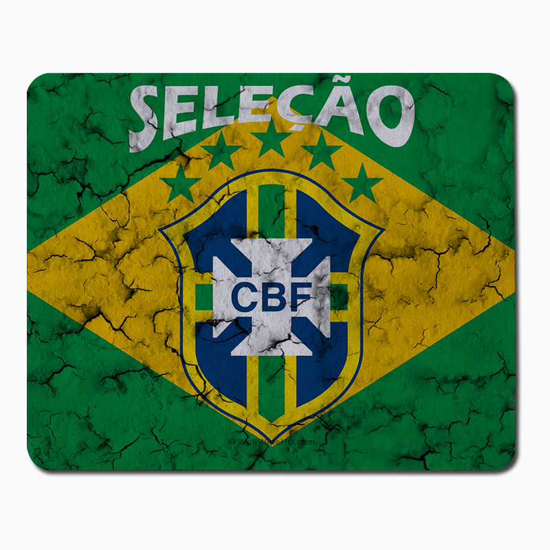 Brasil football <font><b>world</b></font> <font><b>cup</b></font> <font><b>Mouse</b></font> Pad Computer Mousepad Boys gifts Gaming <font><b>Mouse</b></font> Mats To <font><b>Mouse</b></font> Gamer Anime Rectangular <font><b>Mouse</b></font> Pad