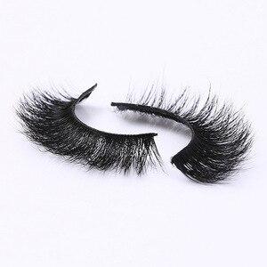 Image 3 - ใหม่ DOCOCER Mink Lashes 3D Mink ขนตาปลอมขนตายาวขนตาธรรมชาติและน้ำหนักเบาขนตาปลอม 1 คู่บรรจุภัณฑ์