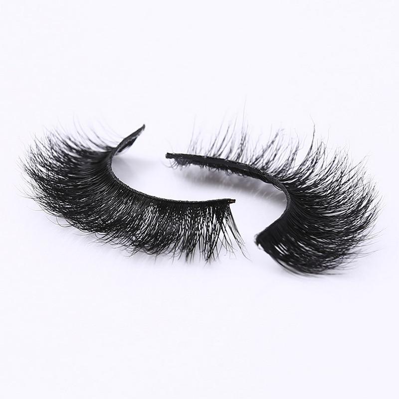 Image 3 - New band DOCOCER Mink Lashes 3D Mink False Eyelashes Long Lasting Lashes Natural & Lightweight Mink Eyelashes 1 pair Packaging-in False Eyelashes from Beauty & Health