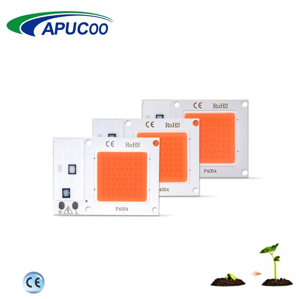 Растет свет чип 10 W 20 W 30 W 220 V 110 V полный спектр внутренняя фитолампа для растения на гидропонике парник, теплица для выращивания лампы рост