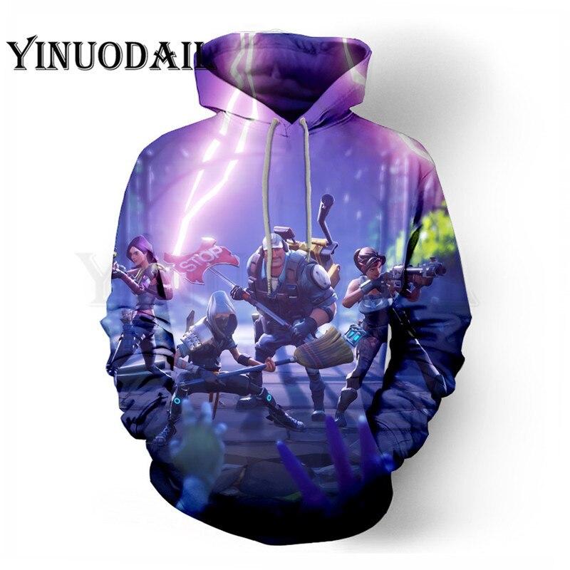 New Battle Royale Game 3D Hoodie Children Hoodies Streetwear Hip Hop Warm Hoody Sweatshirts Hoodie Harajuku Victory Royal(China)