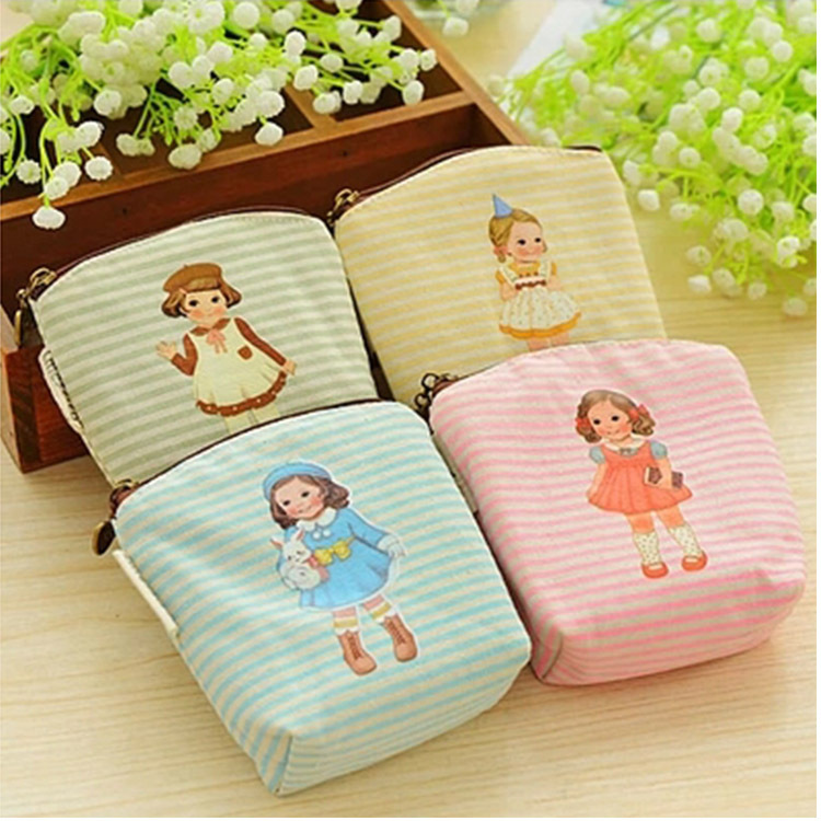 Kawaii 4 Colors Girl Mini Coin Purse Money Coin Bag Storage Card Holder Case Key Pouch Purse Wallets Carteira Feminina For Child bolsas 2017 slim credit card coin holder mini wallet women id case purse bag pouch men wallets carteira feminina