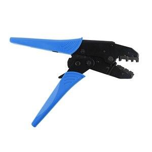 Image 4 - Alicates de crimpado de colores, conectores de terminales de cable aislados profesionales, herramienta de crimpado de trinquete para 22 10AWG LY 03C/HS 30J
