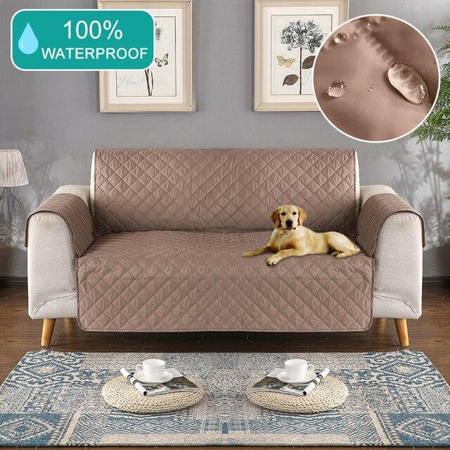 עמיד למים oilproof ספה כיסוי רחיץ נשלף מגבת משענת ספה מכסה כיסויים ספה כלב חיות מחמד אחת/שני/שלוש מושבים