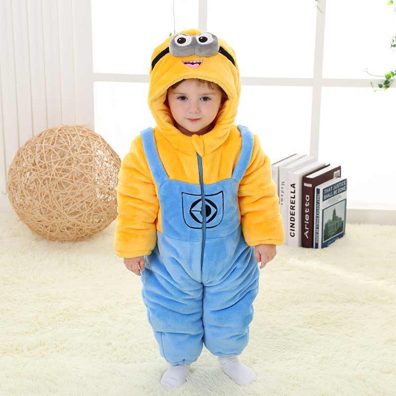 Find a Child's Minion Costume here (overalls style). Find an Adult Minion Costume here (overalls style – matches the style above). Find a Minion Costume for your DOG here (LOL!!).