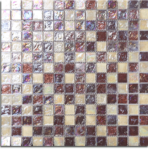 Luxury art coffee puzzle parquet mosaic wallpaper Crystal glass sticker kitchen backsplash bathroom border cafe wall tile,LSLL03