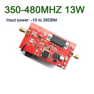 Image 2 - 433MHZ 13W UHF RF Amplificatore di Potenza della Radio DMR 350MHZ 480MHZ Digital radio stazione di segmento U la trasmissione dei dati