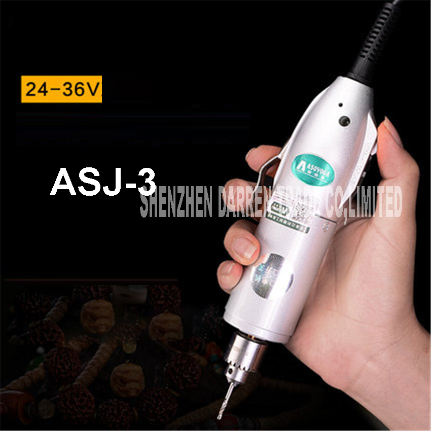 ASJ-3 Mini Electric Drill  Grinding Accessories Set Multifunction Engraving Machine Electric Tool kit 9000-14500RPM 220V/110V electric drill mini miniature ball bearing precision grinding aluminum shell multifunction hand drill