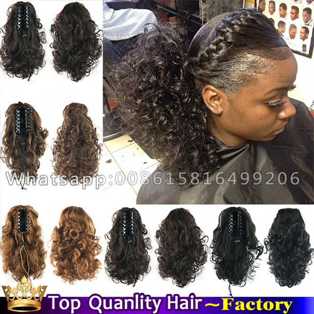 14inch synthetic black claw hair