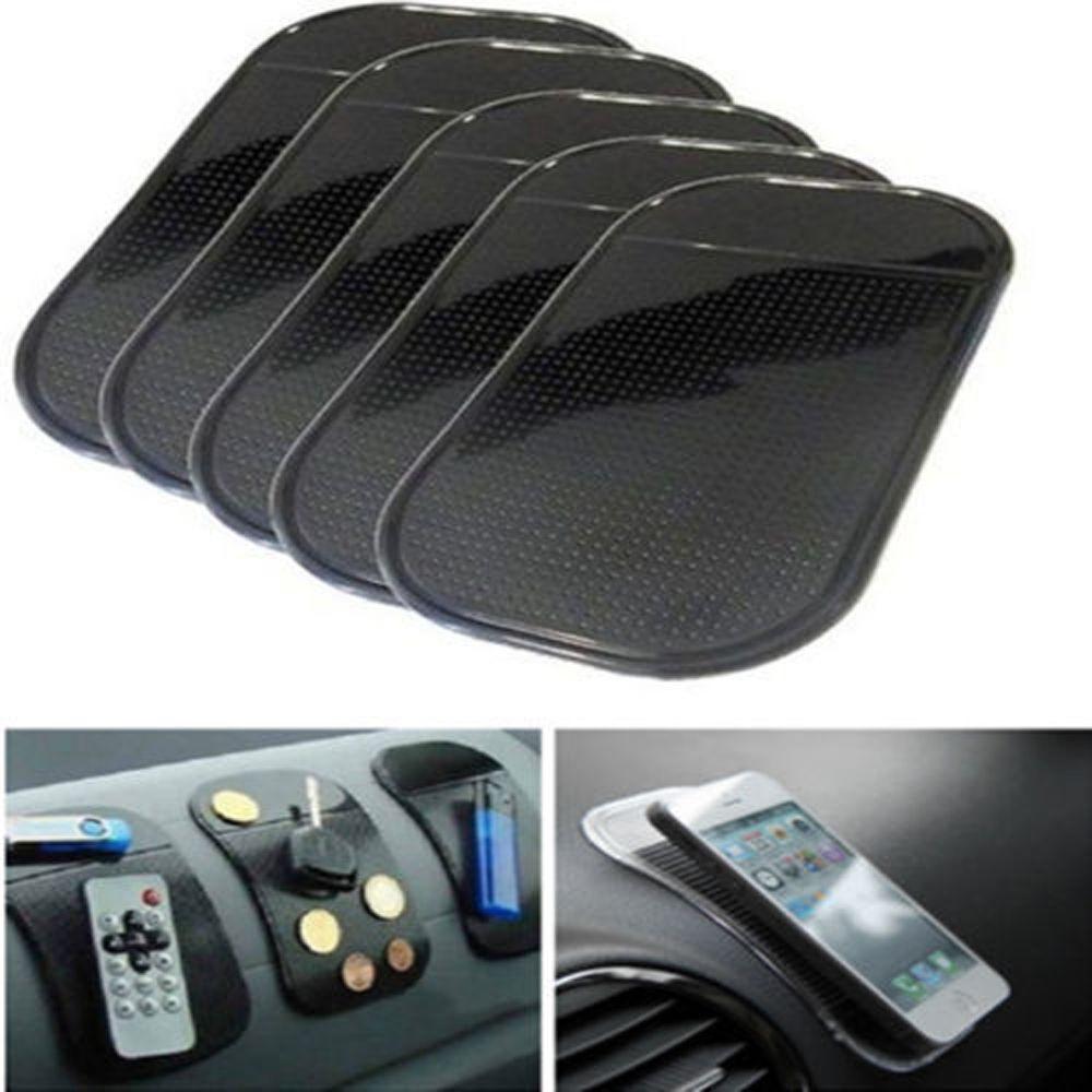 5pcs/10pcs Car Gadget Styling Sticky Gel Pad Accessories Phone Holder Magic Dashboard Silicone Anti Non Slip Mat Car Accessories