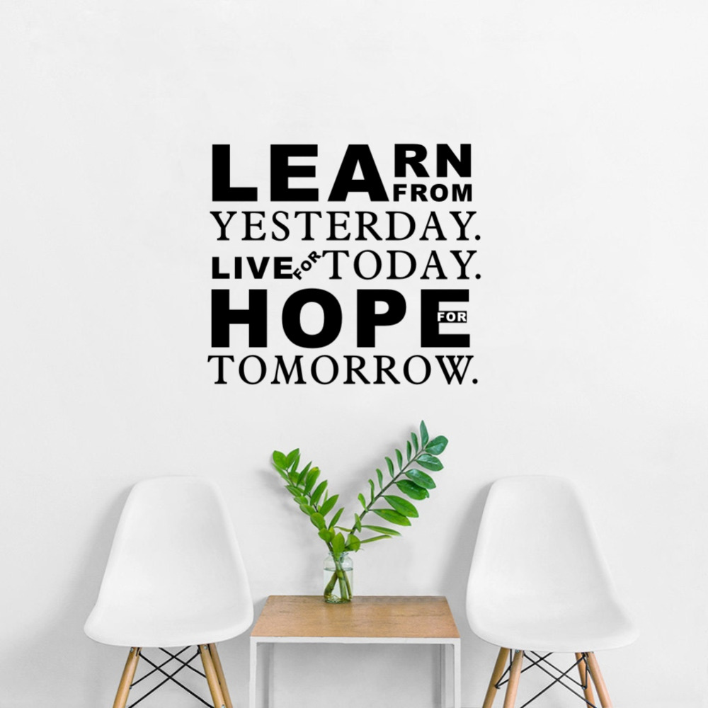 Live For Today Quotes Inspirational Quotes Learn From Yesterday Live For Today Hope For
