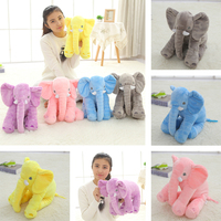 40cm Elephant Stuffed Animal Toys Plush Pillow Dolls Baby Gifts For Birthday Christmas